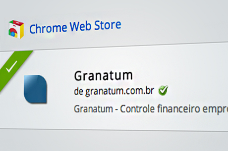 Coloque o Granatum no seu Google Chrome